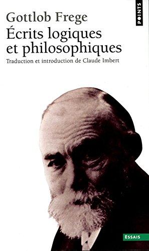 Écrits logiques et philosophiques