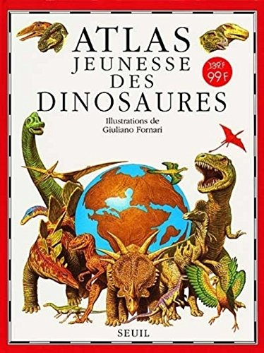 Atlas jeunesse des dinosaures