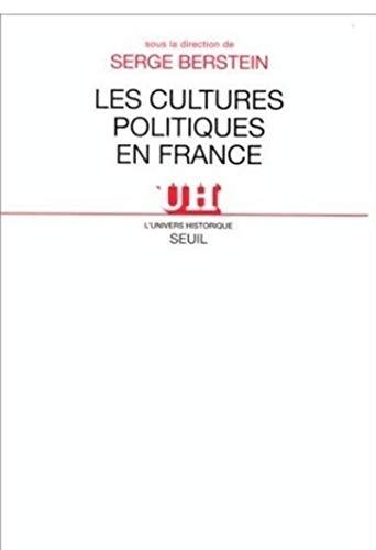 Cultures politiques en France (Les)