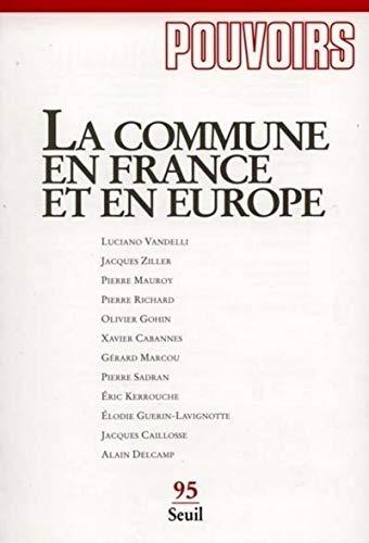 Commune en France et en Europe (La)