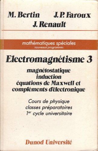 Electromagnétisme 3