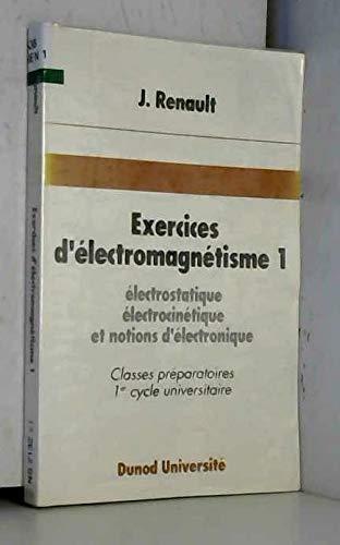 Exercices d'électromagnétisme