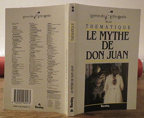 Mythe de don Juan (Le)