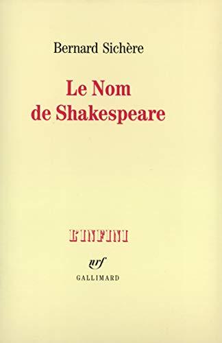 Nom de Shakespeare (Le)