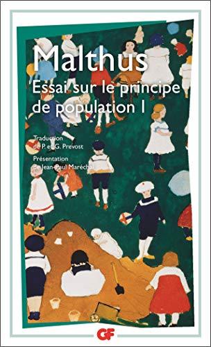 Essai sur le principe de population 1