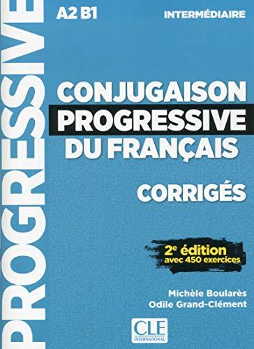 Corrigés conjugaison progressive