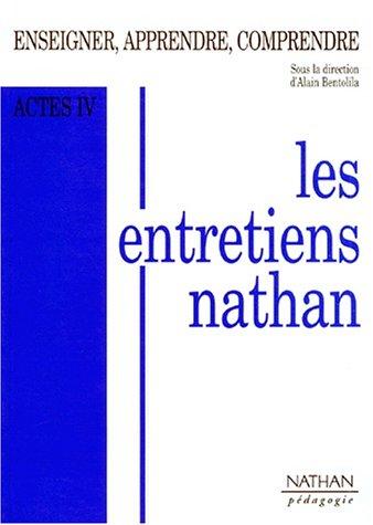 ENTRETIENS NATHAN (LES)