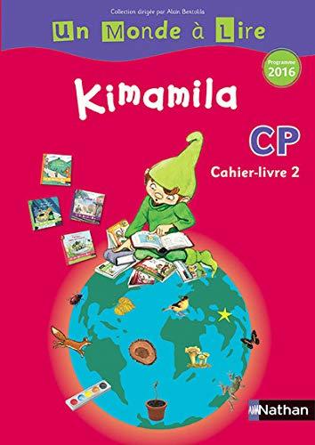 Kimamila- cahier-livre 2- série rouge- CP