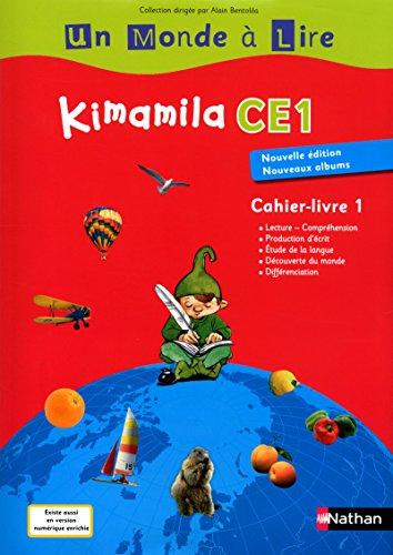Kimamila CE1- Cahier-livre 1