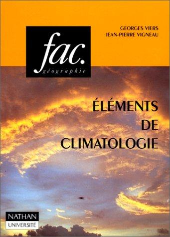 Eléments de climatologie