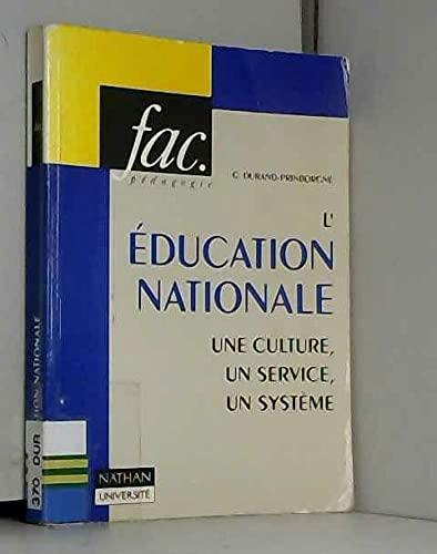 (L') EDUCATION NATIONALE