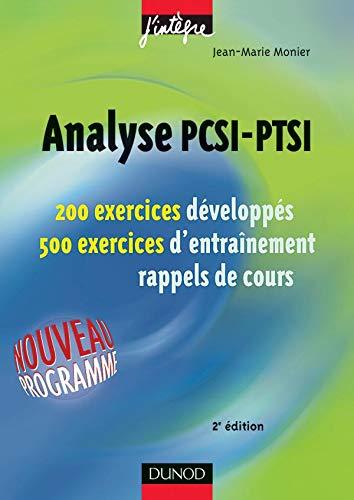 Analyse PCSI-PTSI