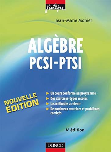 Algèbre PCSI-PTSI
