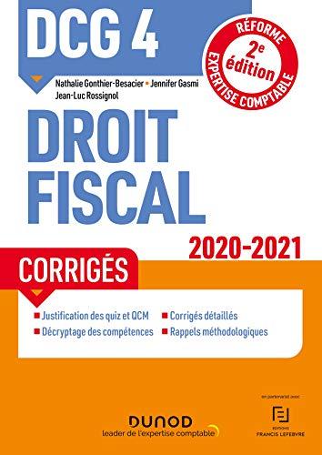 DCG 4, droit fiscal