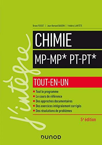 Chimie MP-MP*, PT-PT*