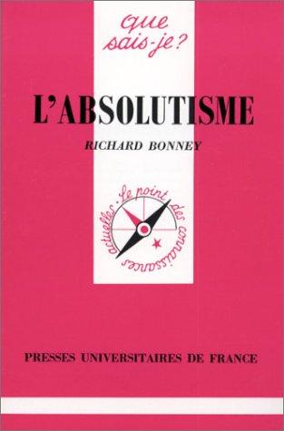 absolutisme (L')