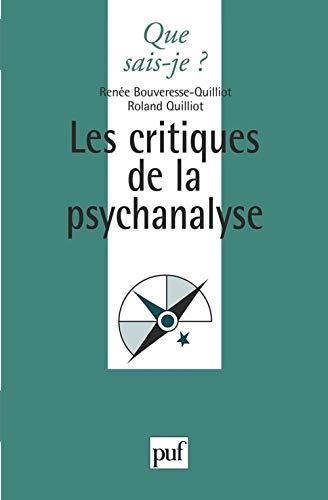 critiques de la psychanalyse (Les)