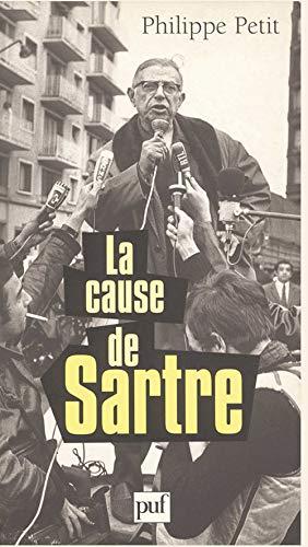 La cause de Sartre Philippe Petit