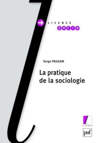 Pratique de la sociologie (La)