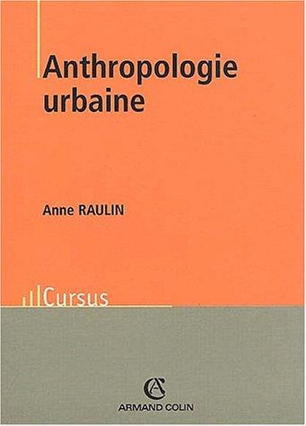 Anthropologie urbaine.