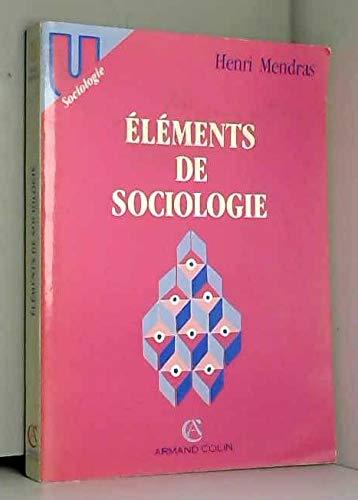 ELEMENTS DE SOCIOLOGIE.