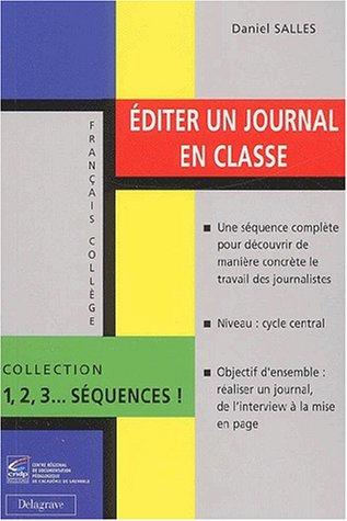 Editer un journal en classe