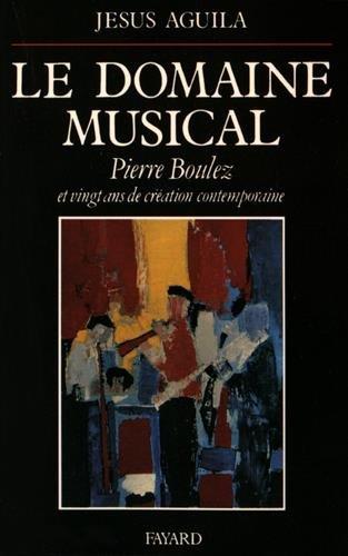 domaine musical (Le)