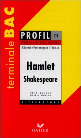 Hamlet (1600 environ). Shakespeare