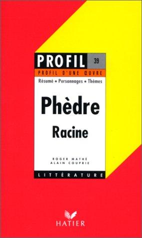 Phèdre, Racine 1677