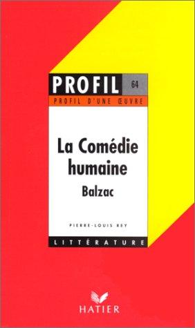 La comédie humaine, Balzac