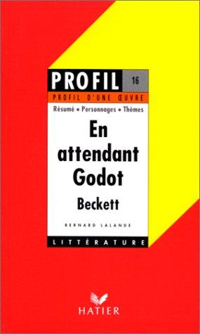 ''En attendant Godot'' Beckett