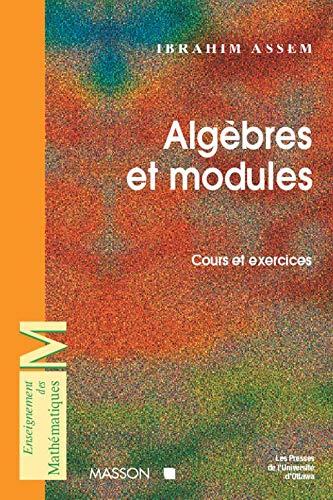 Algèbre et modules