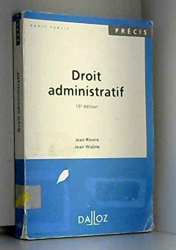 Droit administratif 1994