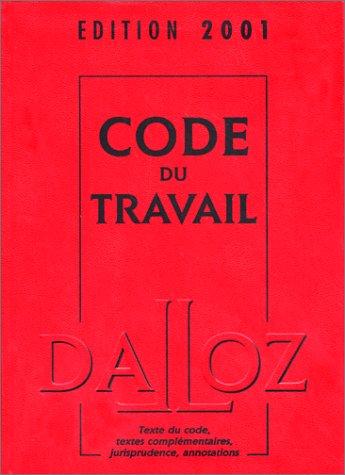 Code du travail 2001
