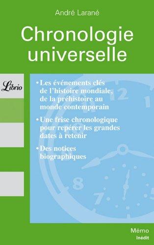 Chronologie universelle
