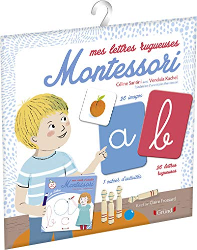 Mes lettres rugueuses Montessori