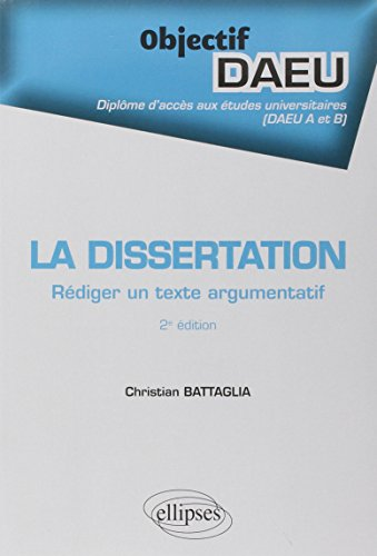 Dissertation (La)