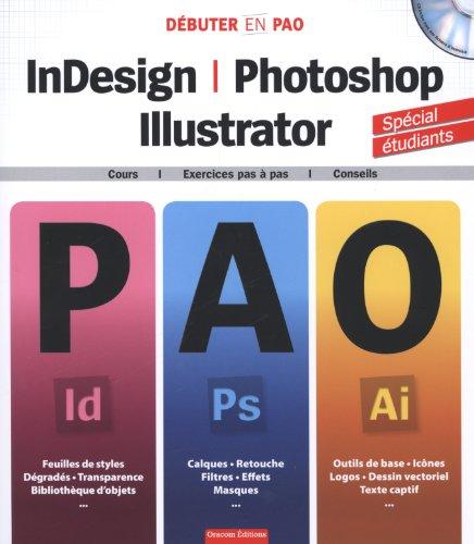 InDesign, Photoshop & Illustrator