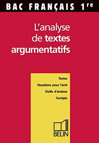 Analyse de textes argumentatifs