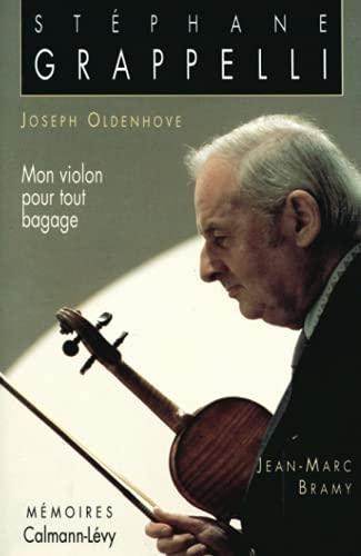 Mon violon pour tout bagage