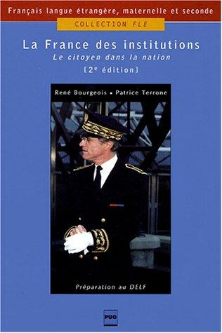 La France des institutions
