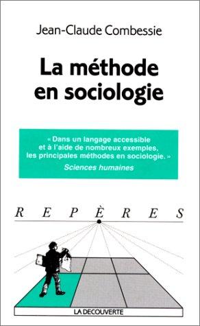 La méthode en sociologie