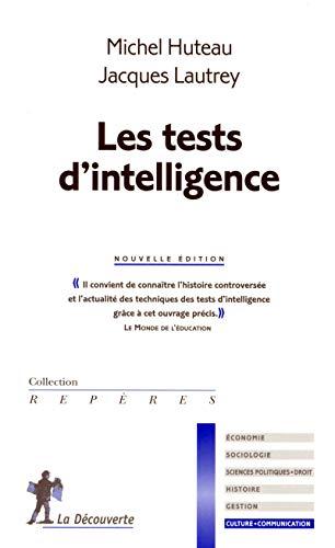 Les tests d'intelligence