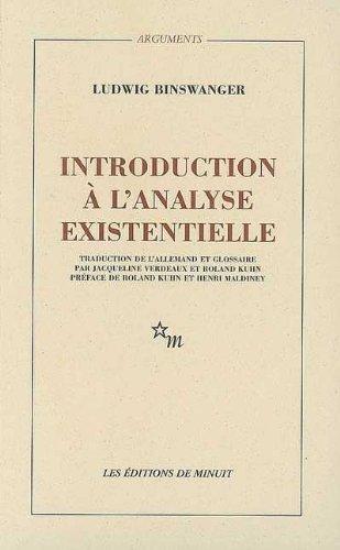 Introduction à l'analyse existentielle