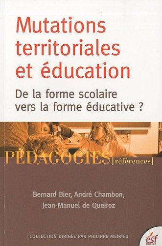Mutations territoriales et éducation