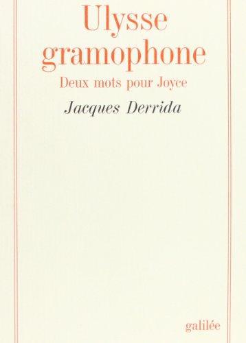 Ulysse gramophone