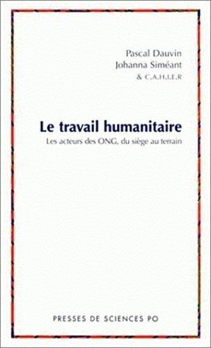 Le travail humanitaire