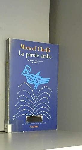 parole arabe (La)