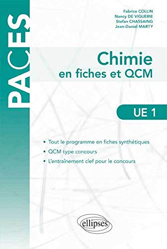 Chimie en fiches et QCM