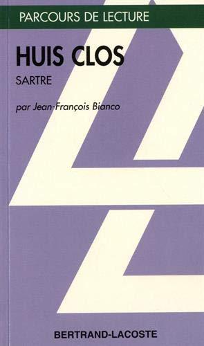 Huis clos. Jean-Paul Sartre